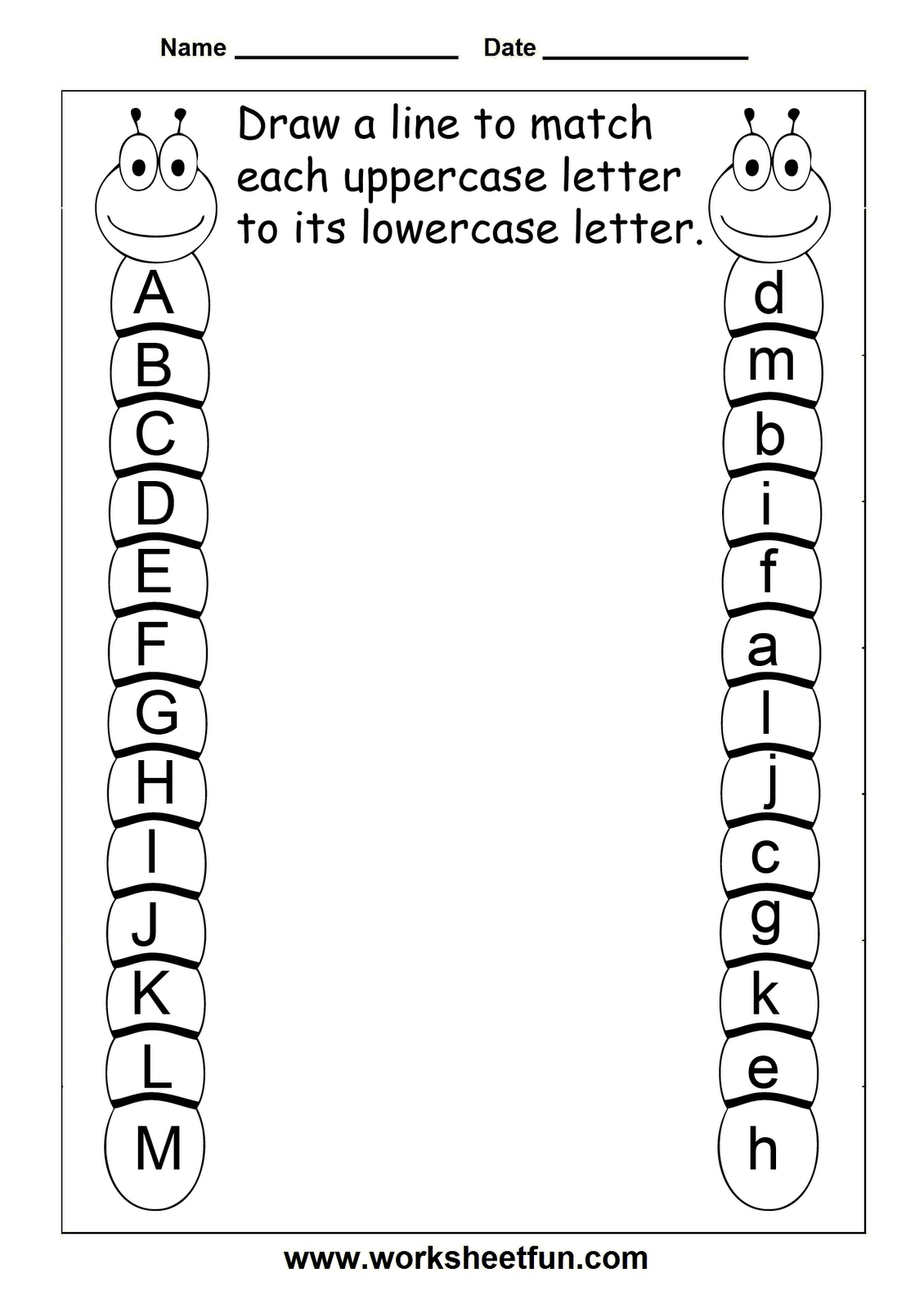 Alphabet Tracing Worksheet 1 30