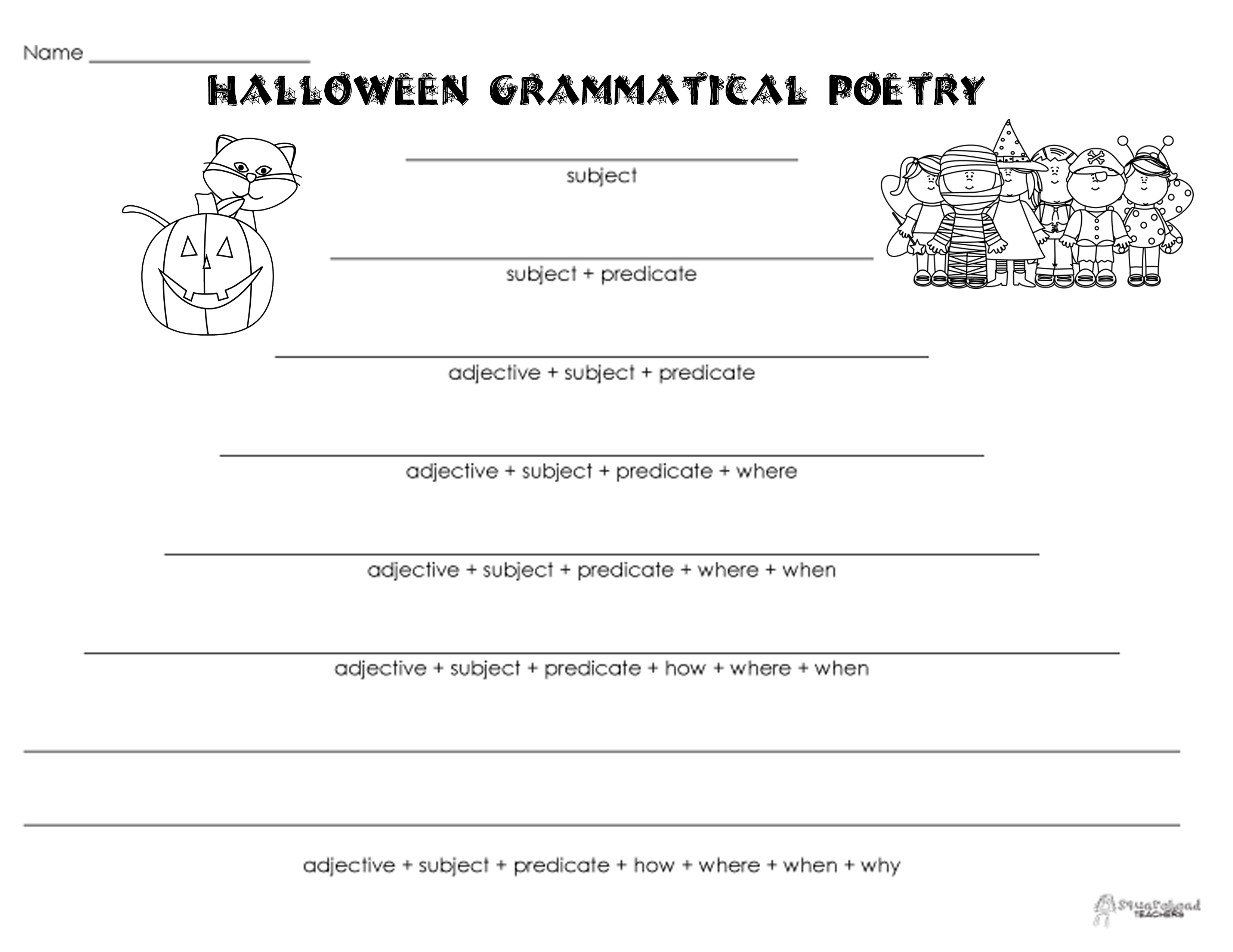 15 Best Images Of Free Printable Halloween Reading Comprehension Worksheets