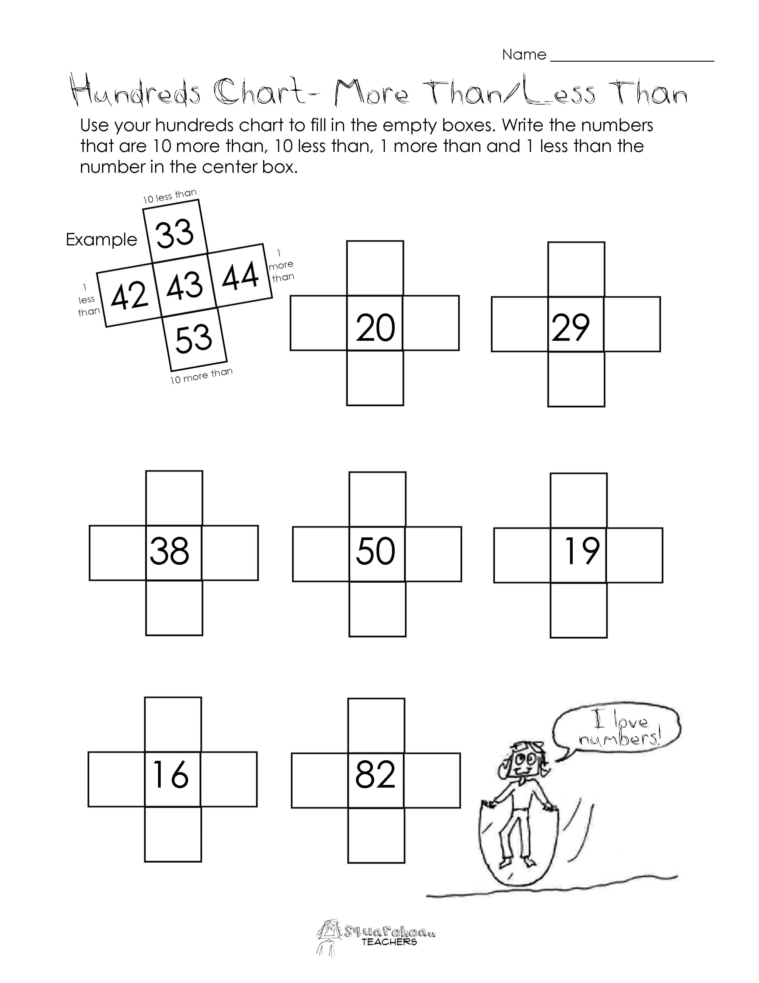 9 Best Images Of More Than Fewer Than Worksheets