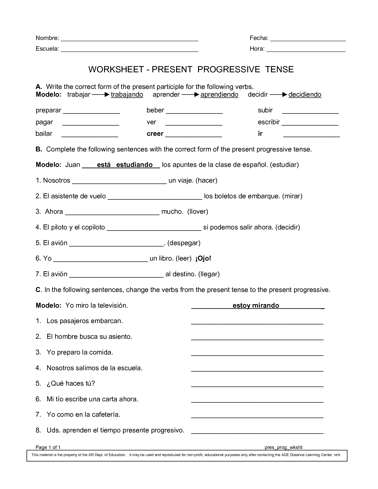 13 Best Images Of Past Present Future Tense Esl Worksheets
