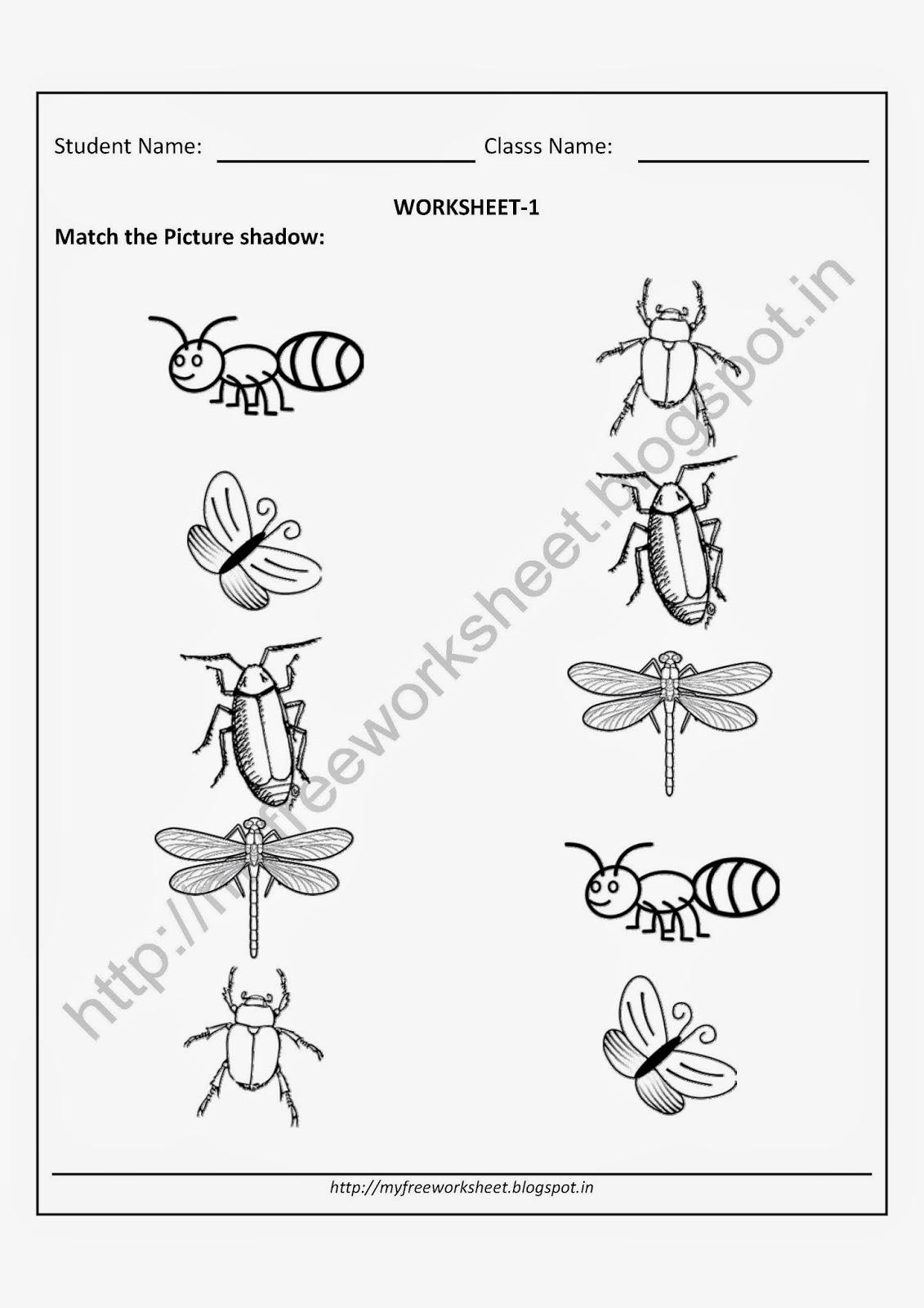 12 Best Images Of Free Printable Preschool Worksheets
