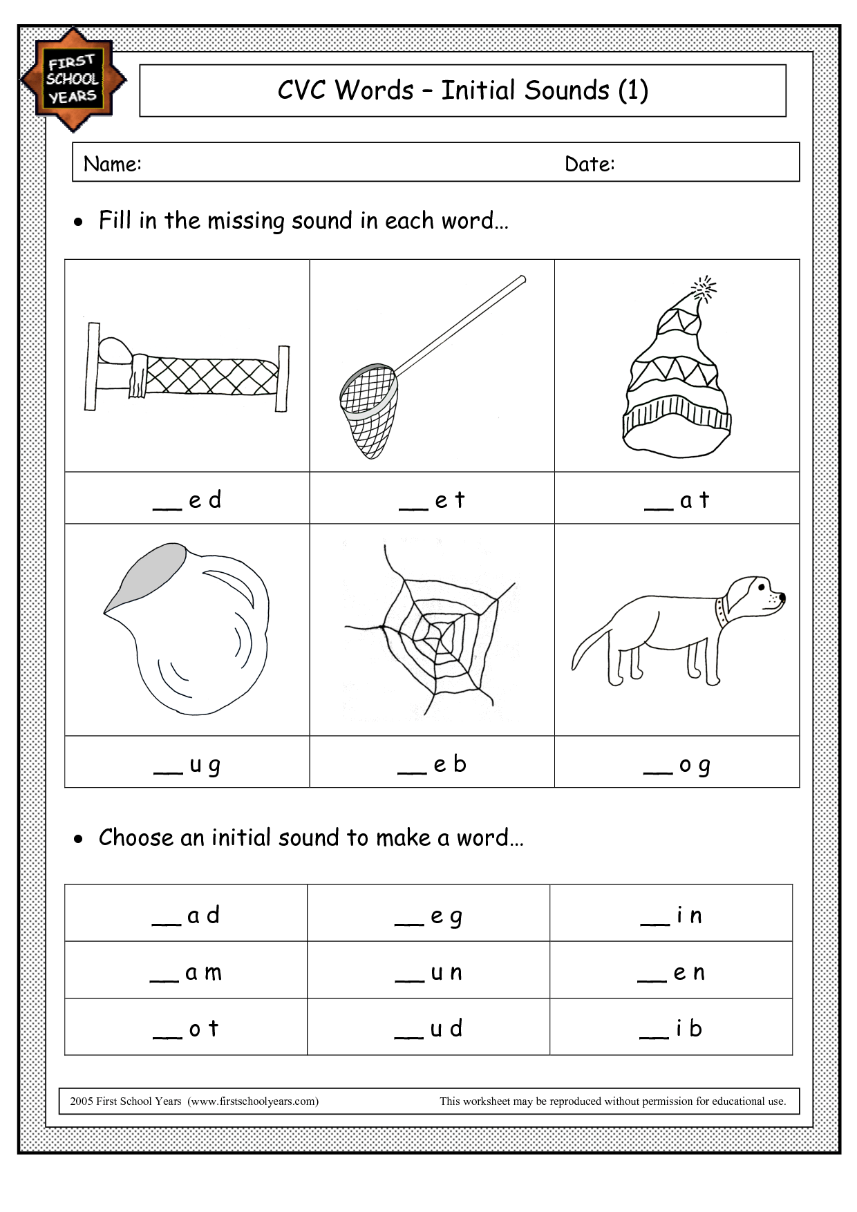 14 Best Images Of Cvc Words Short Vowels Worksheets