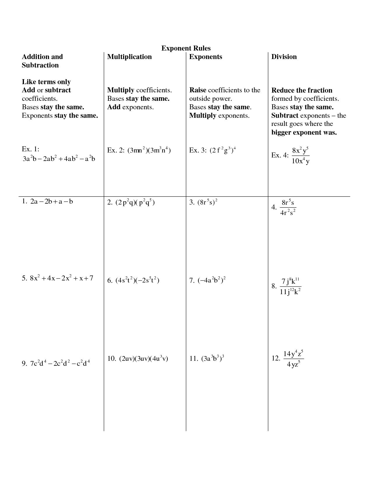 18 Best Images Of Adding Scientific Notation Worksheet