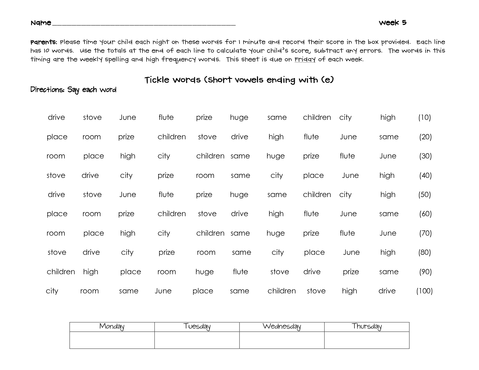 Short O Beginning Sound Worksheet