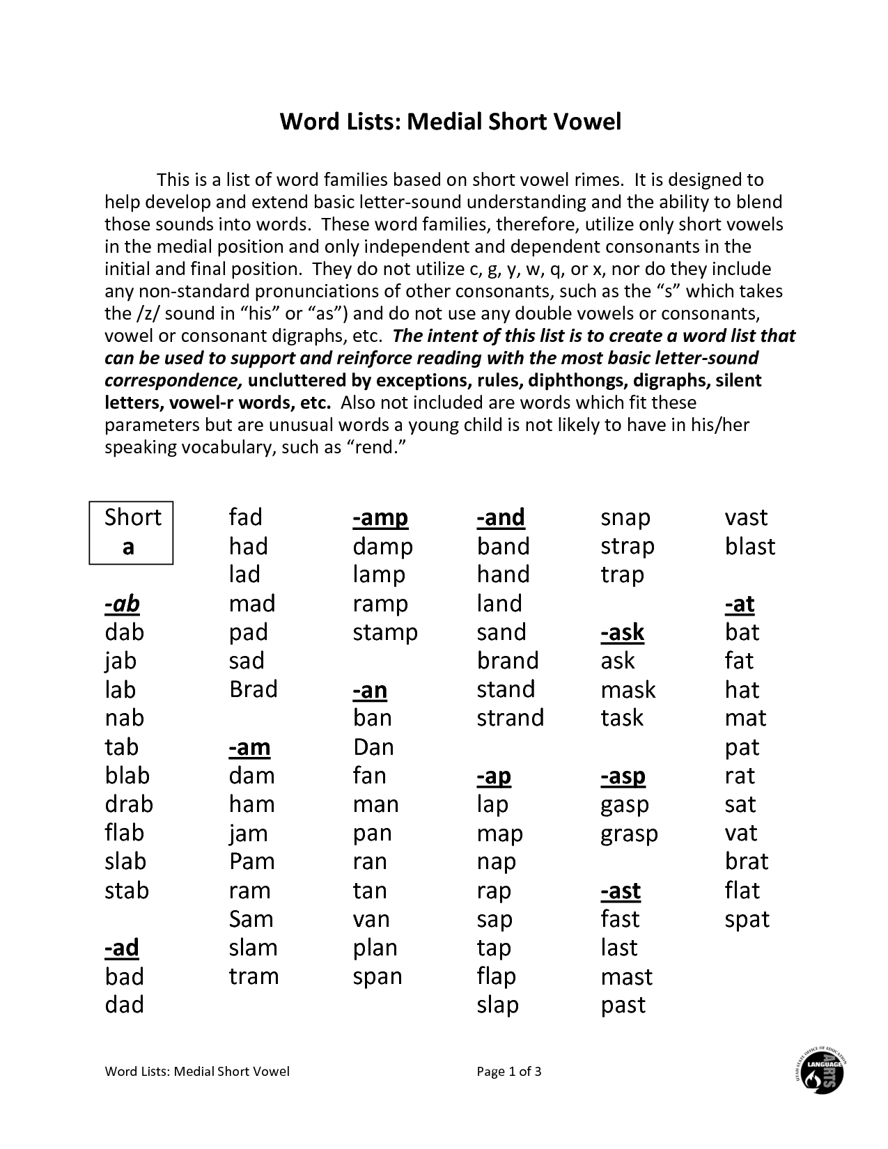 9 Best Images Of Worksheets Long E And I
