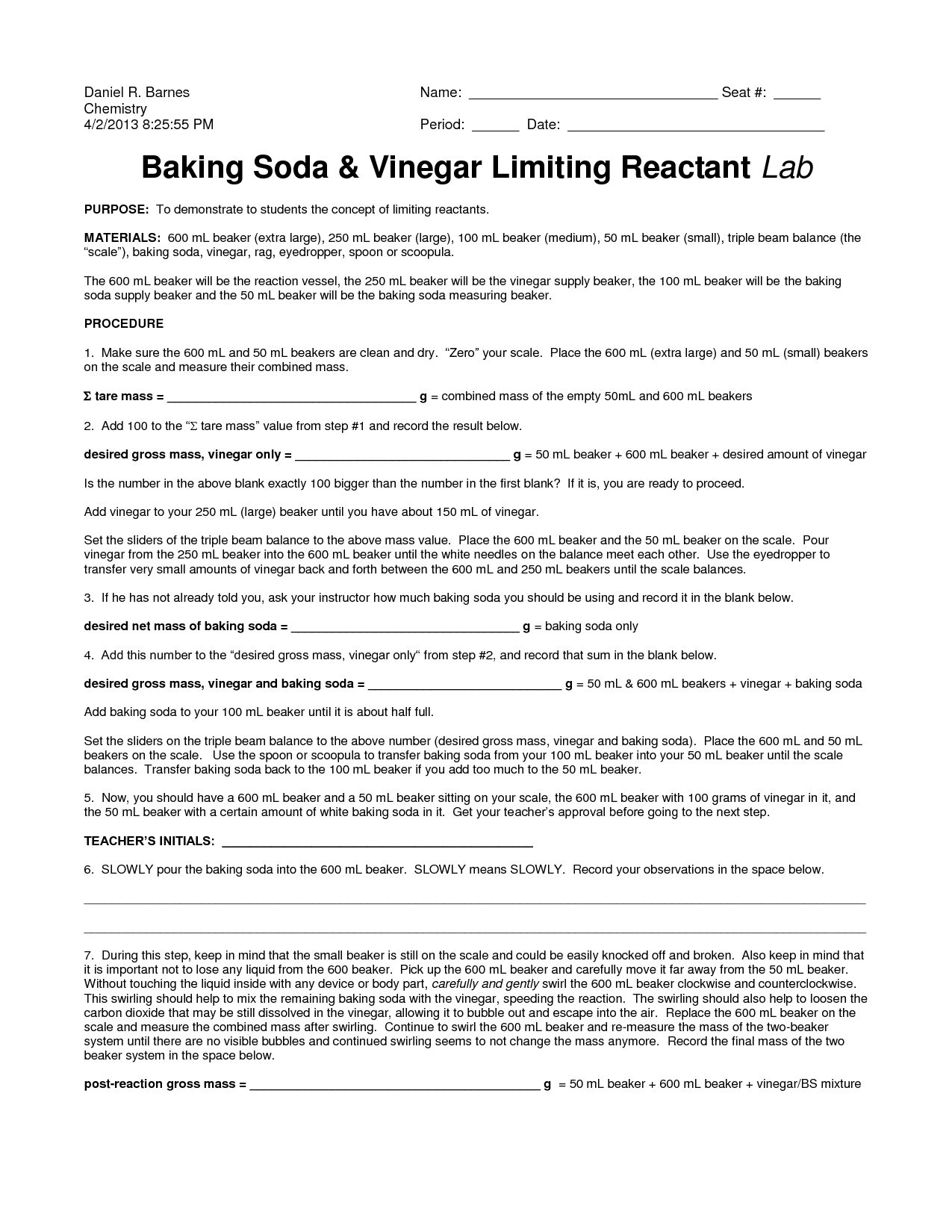 14 Best Images Of Baking Worksheets For Students