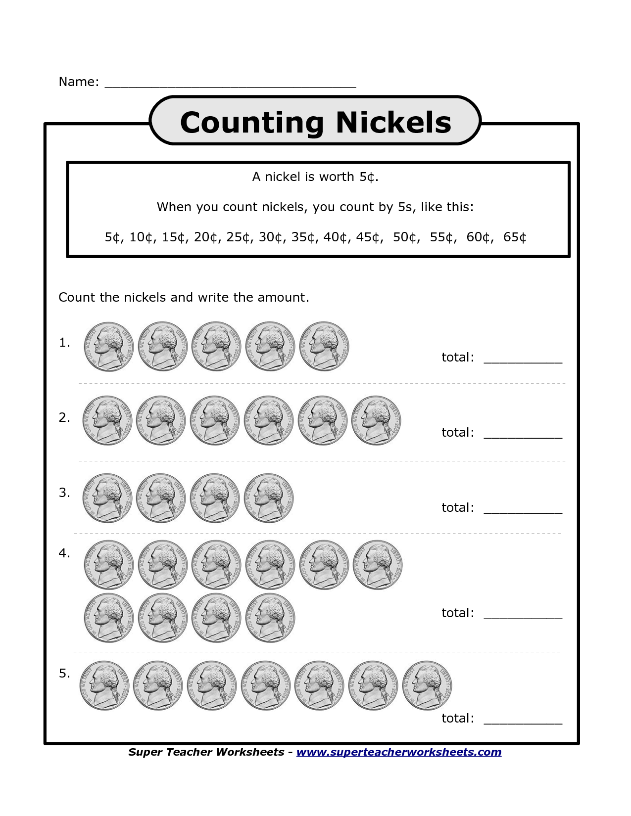 Penny Nickel Worksheets Kindergarten Gtx 970 Dogecoin Mining User