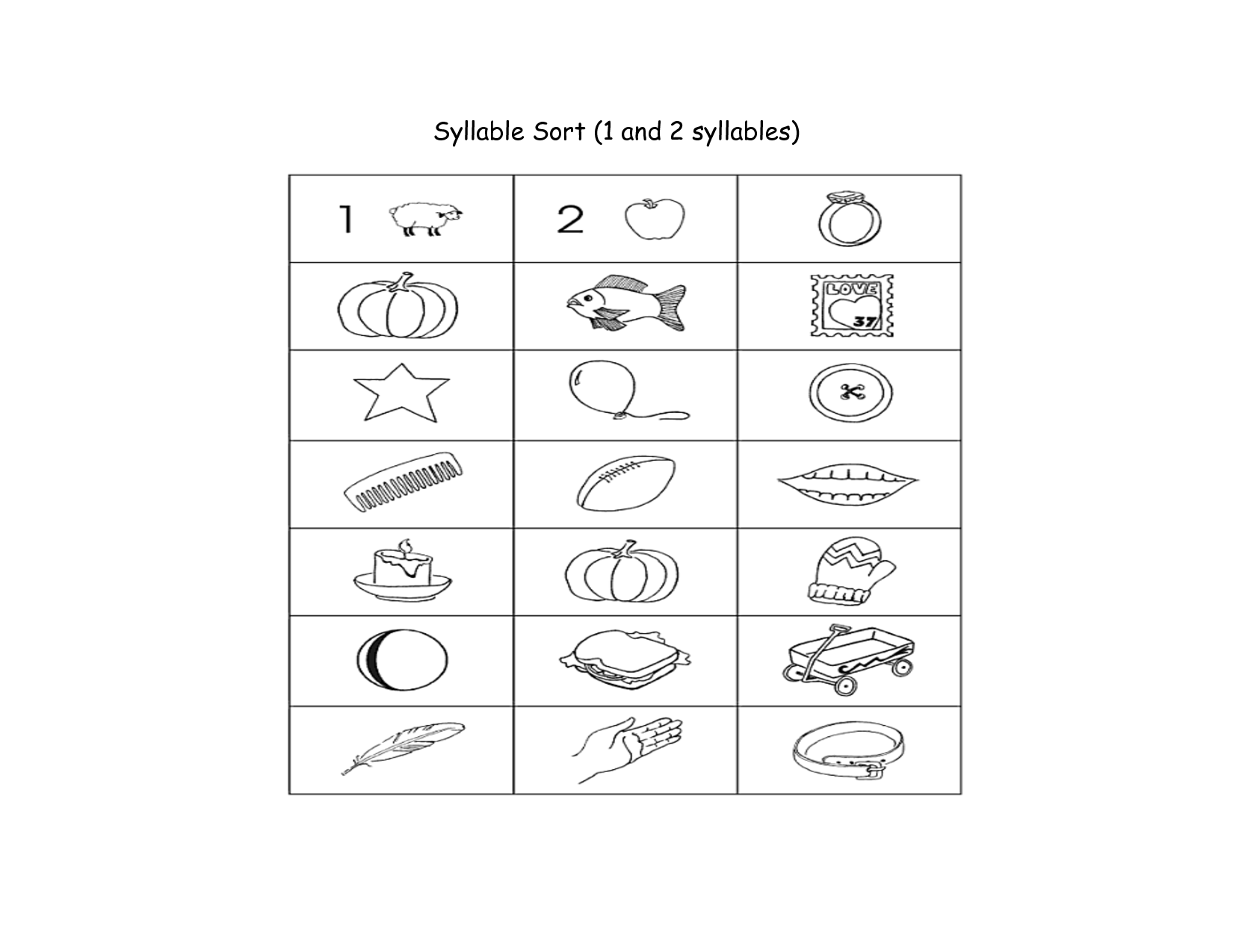 13 Best Images Of Syllabication Worksheets For 4th Grade