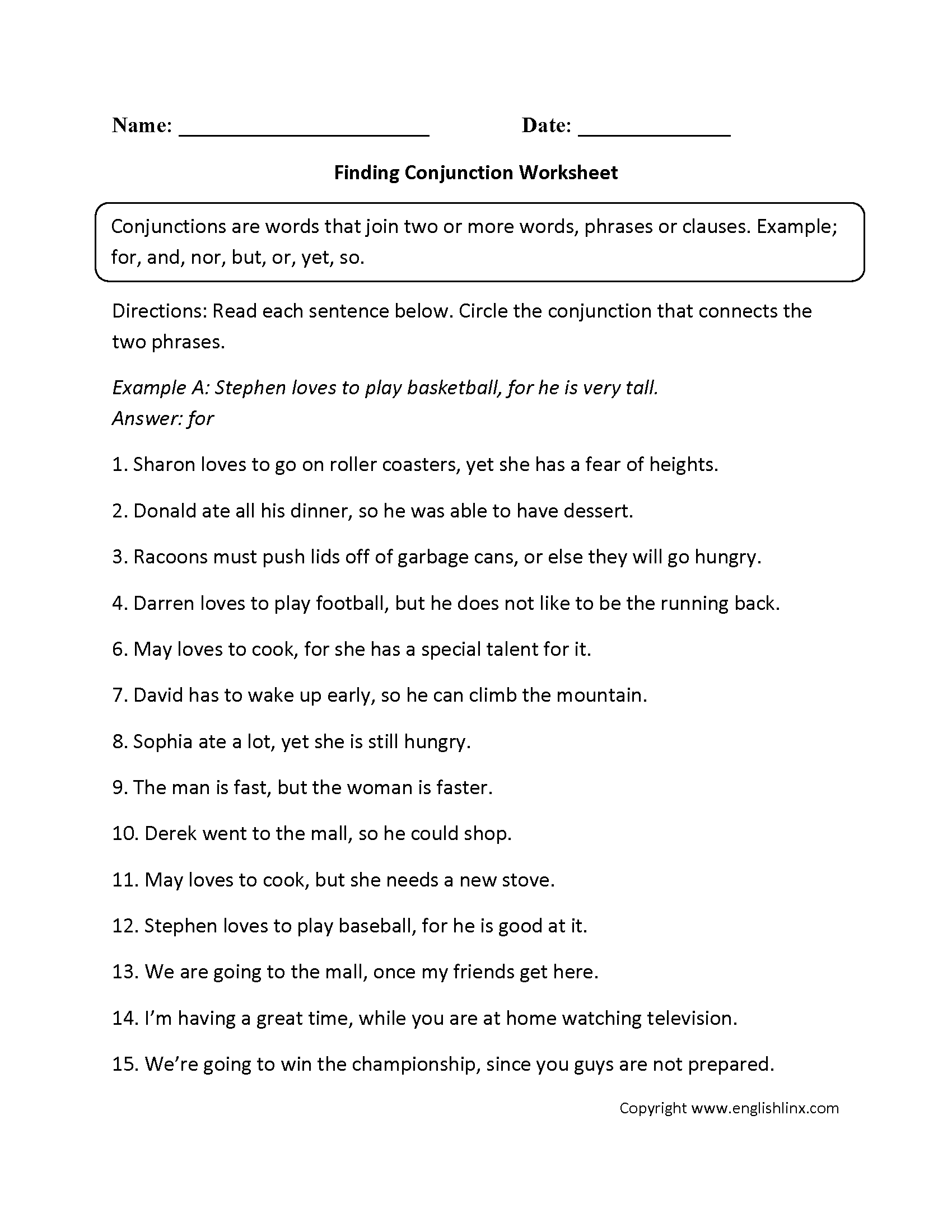 15 Best Images Of Parts Of Speech Worksheets 7th Grade