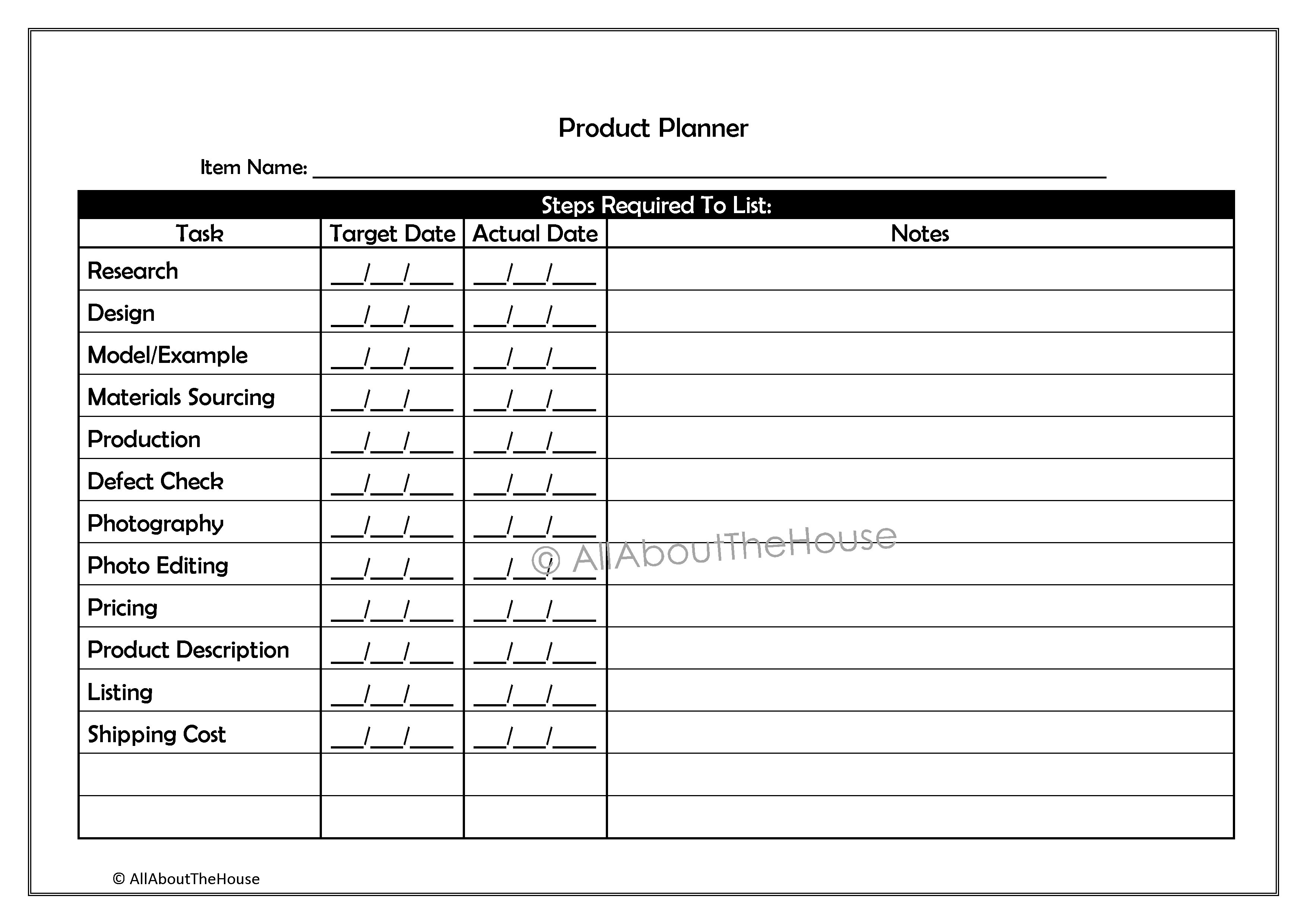 15 Best Images Of Daily Goals Worksheet