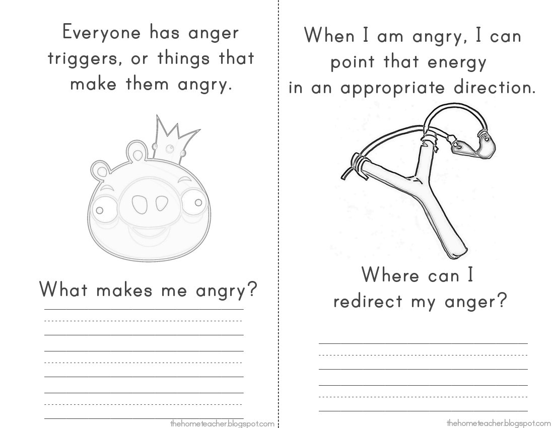 18 Best Images Of Anger Management Coping Skills
