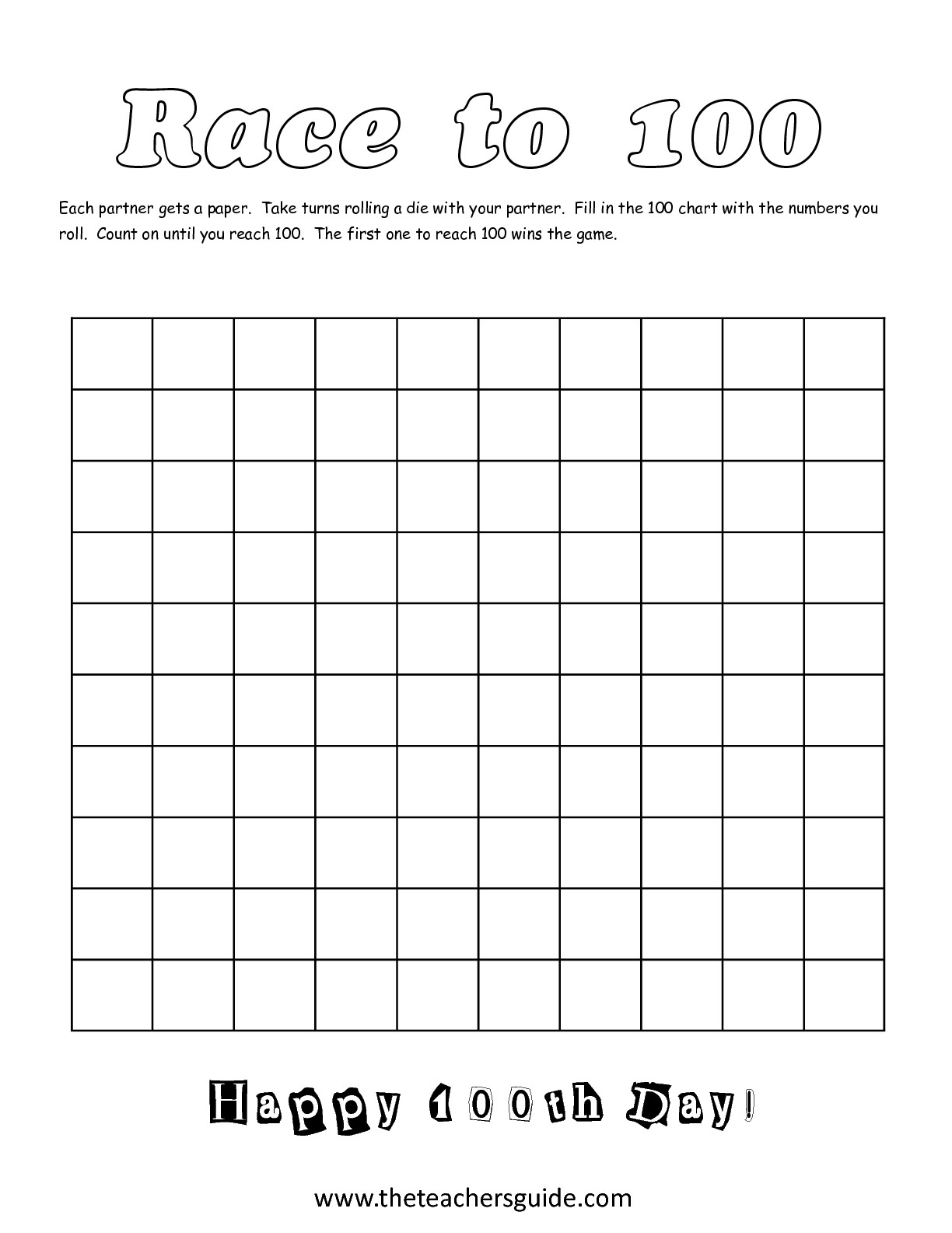 6 Best Images Of 100 Pennies Worksheet