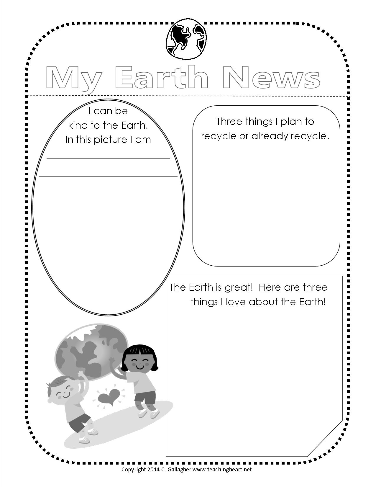 12 Best Images Of Our Earth Worksheets