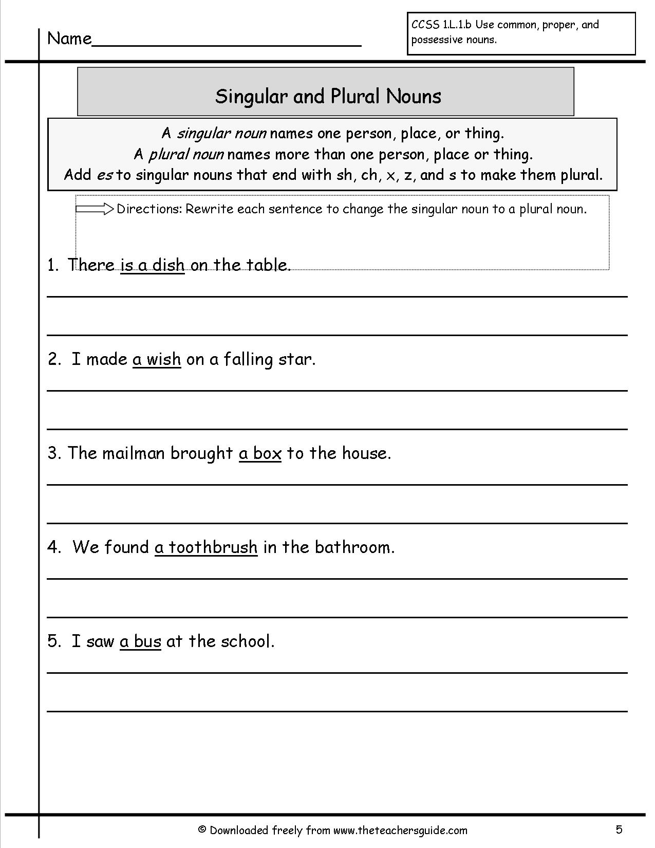 14 Best Images Of Third Person Verbs Worksheet