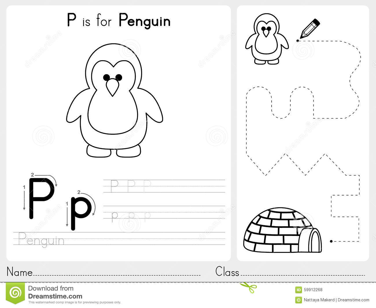 12 Best Images Of Abc Outline Worksheet
