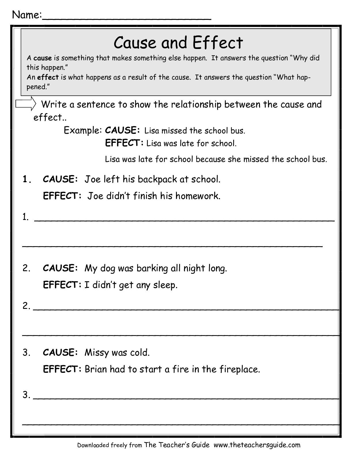 17 Best Images Of Printable Comprehension Worksheets