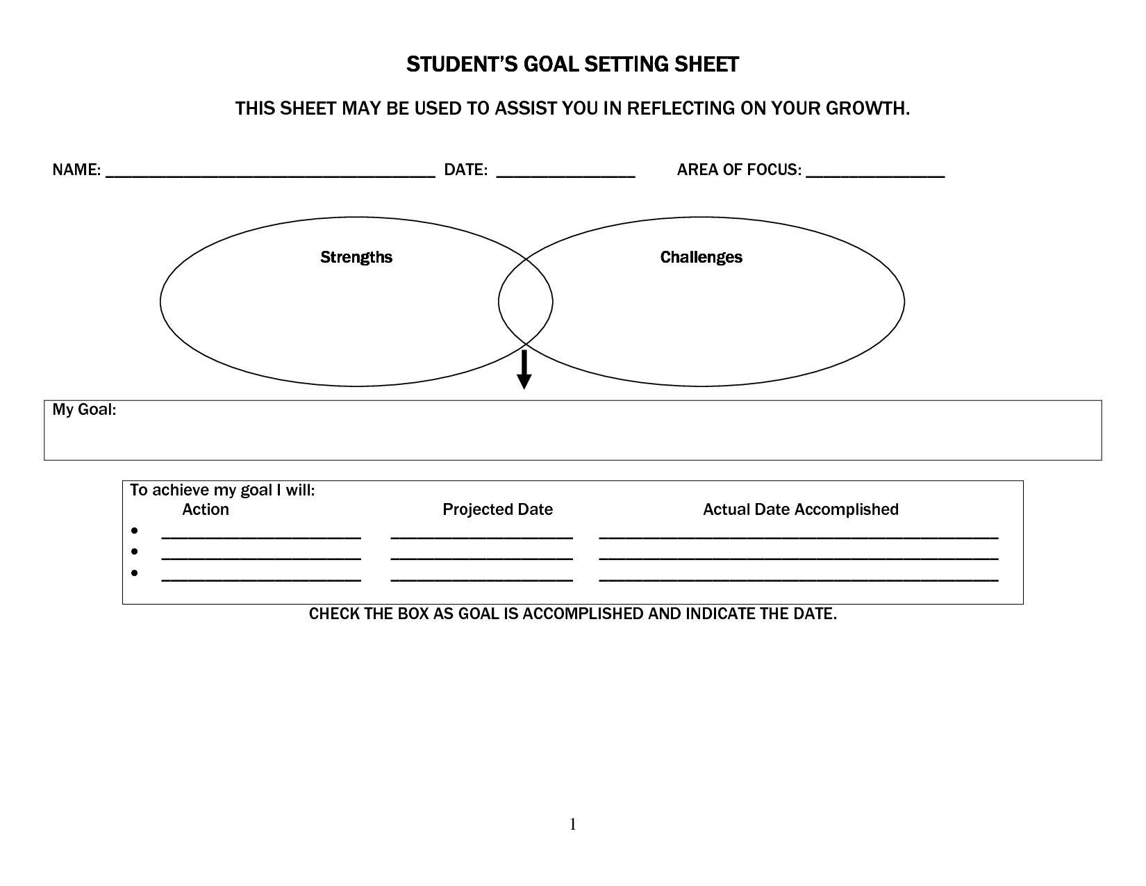 19 Best Images Of Elementary Iep Worksheet