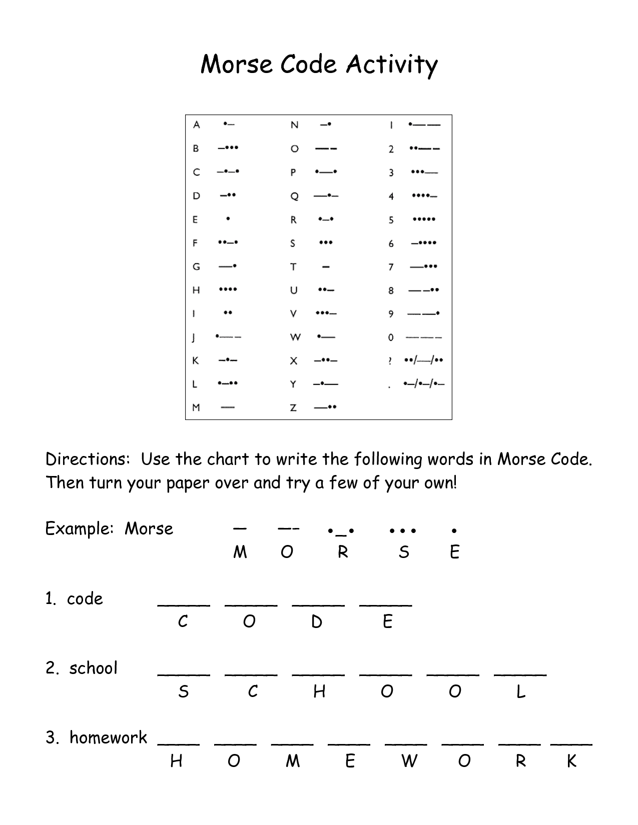 Secret Code Worksheet Ratios
