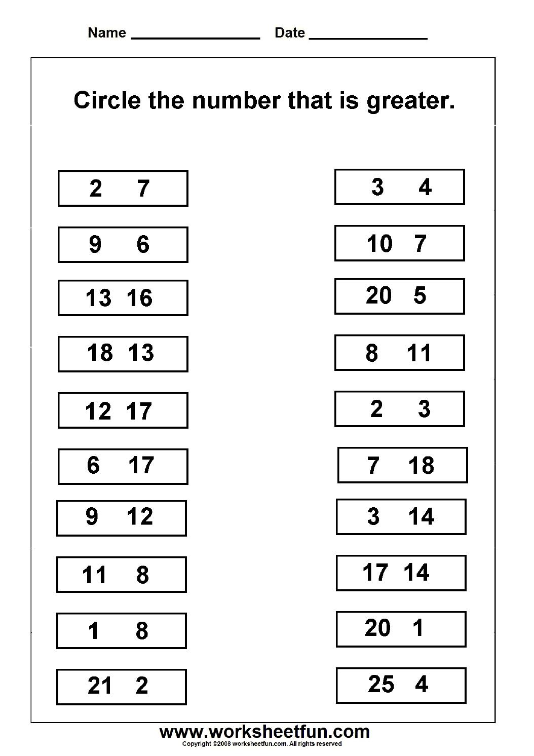 13 Best Images Of Missing Number Worksheets 1 10