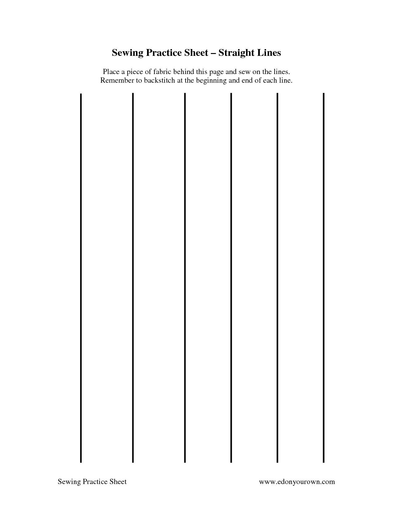9 Best Images Of Sewing Machine Worksheets