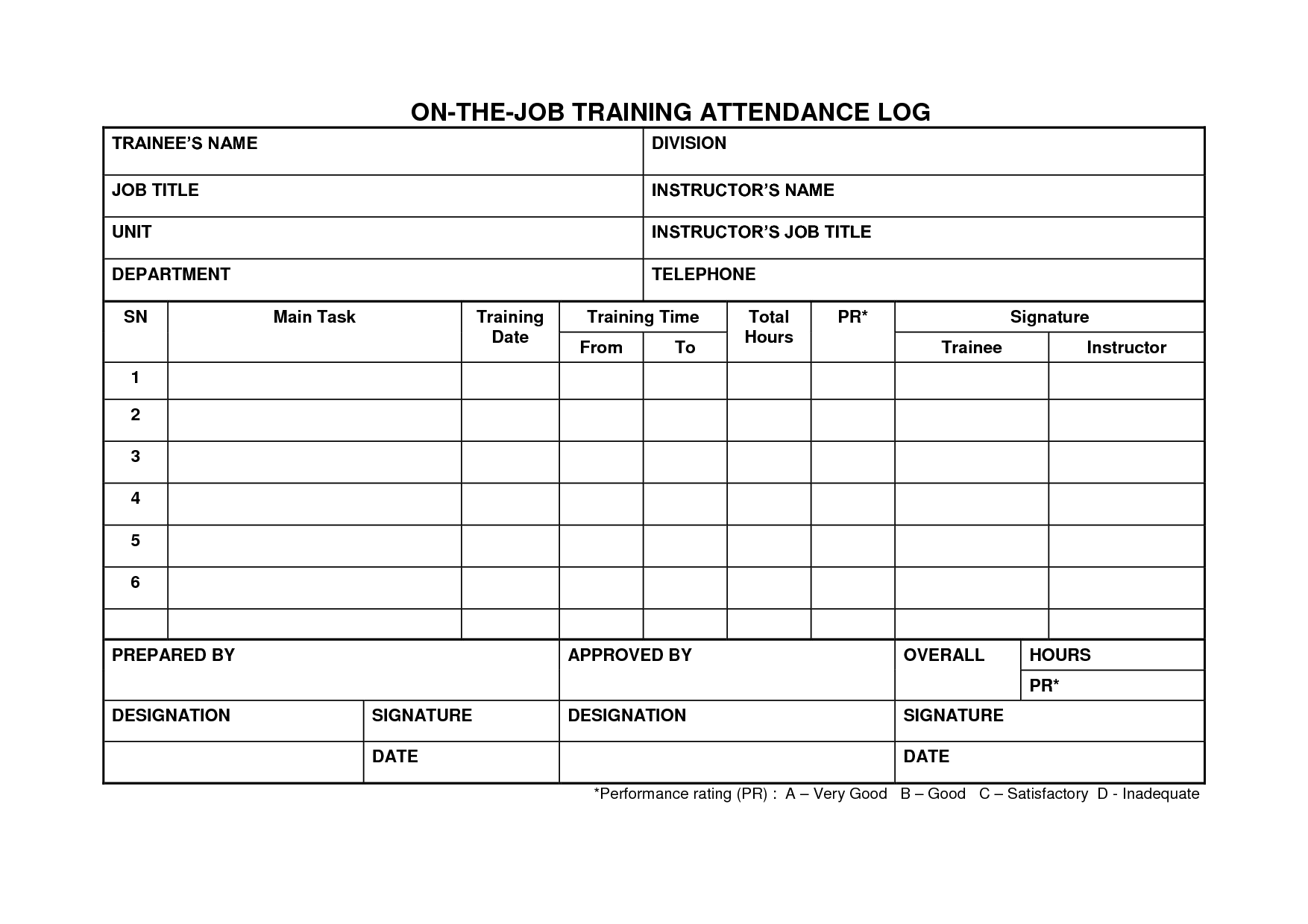13 Best Images Of Job Taskysis Worksheet