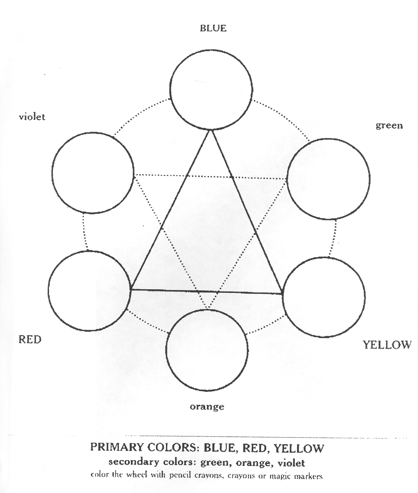 7 Best Images Of Color Theory Worksheet Lesson Plans