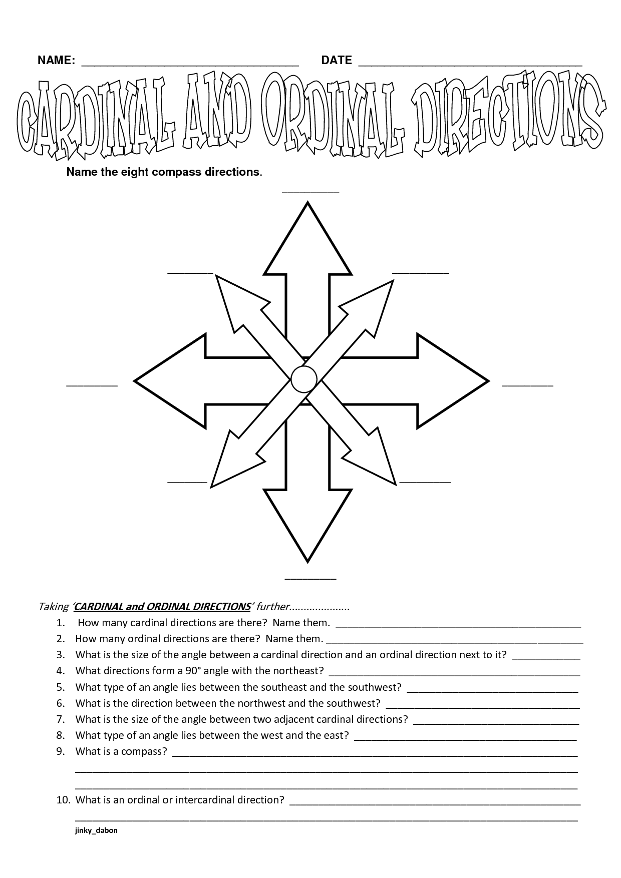 15 Best Images Of Finding Nemo Worksheets With Answer Key