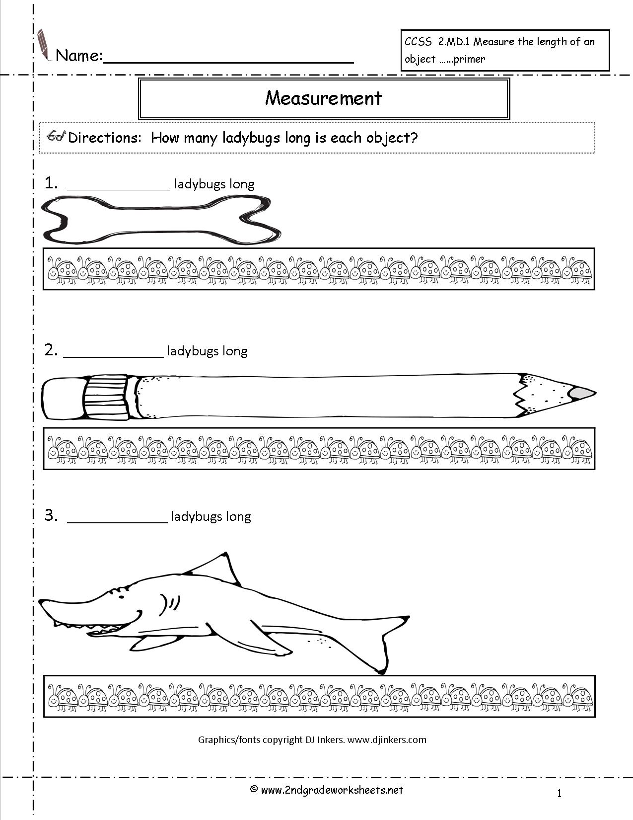 13 Best Images Of Units Of Measurement Worksheets 3rd