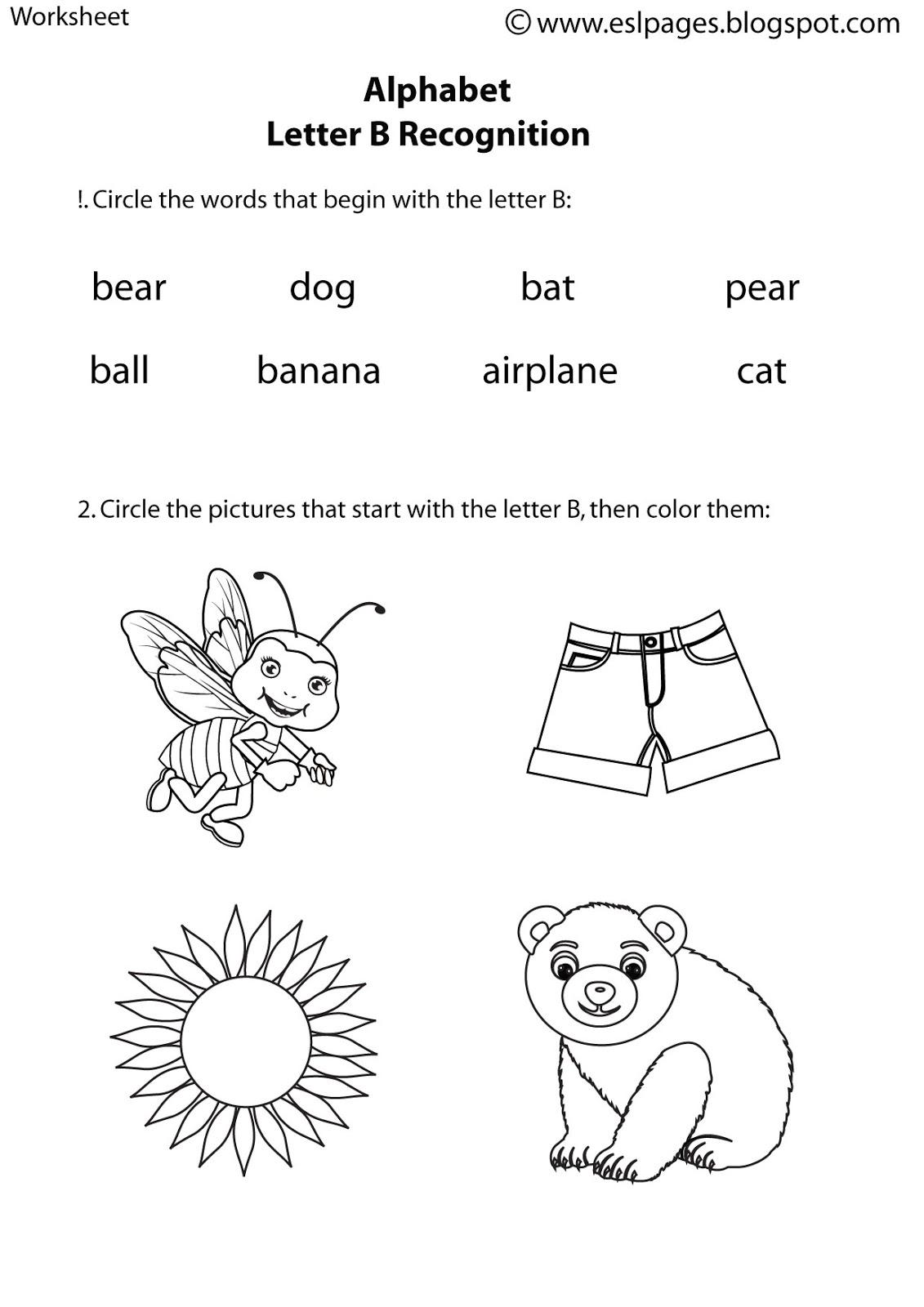 19 Best Images Of Students Esl Alphabet Worksheets