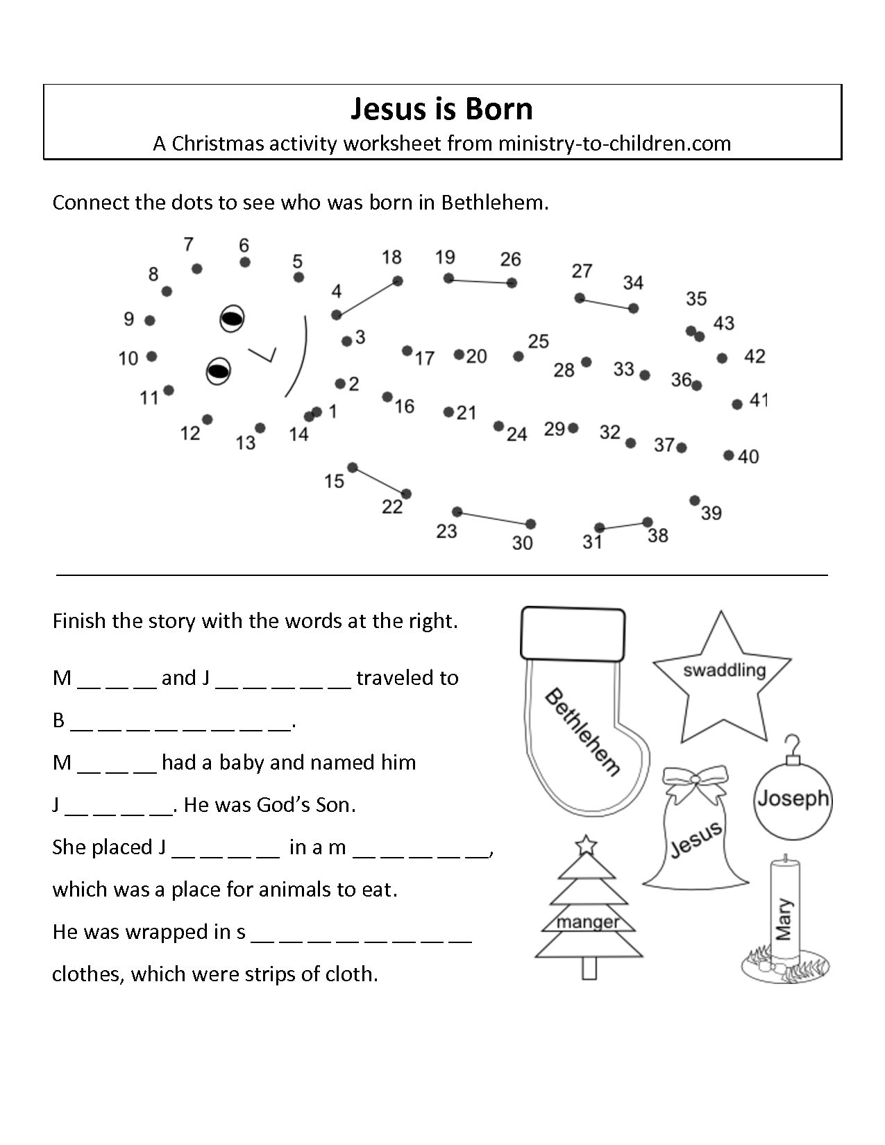 9 Best Images Of Birth To Preschool Worksheet