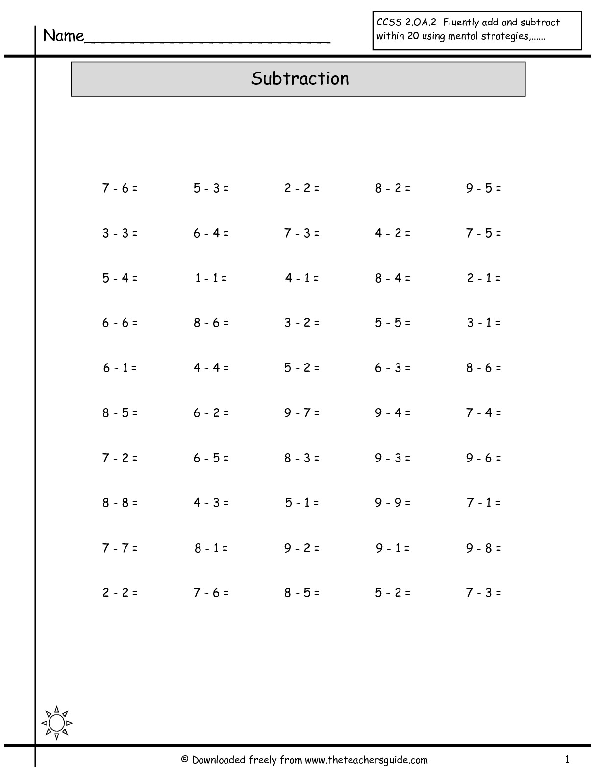 17 Best Images Of Addition And Subtraction Mixed Worksheets
