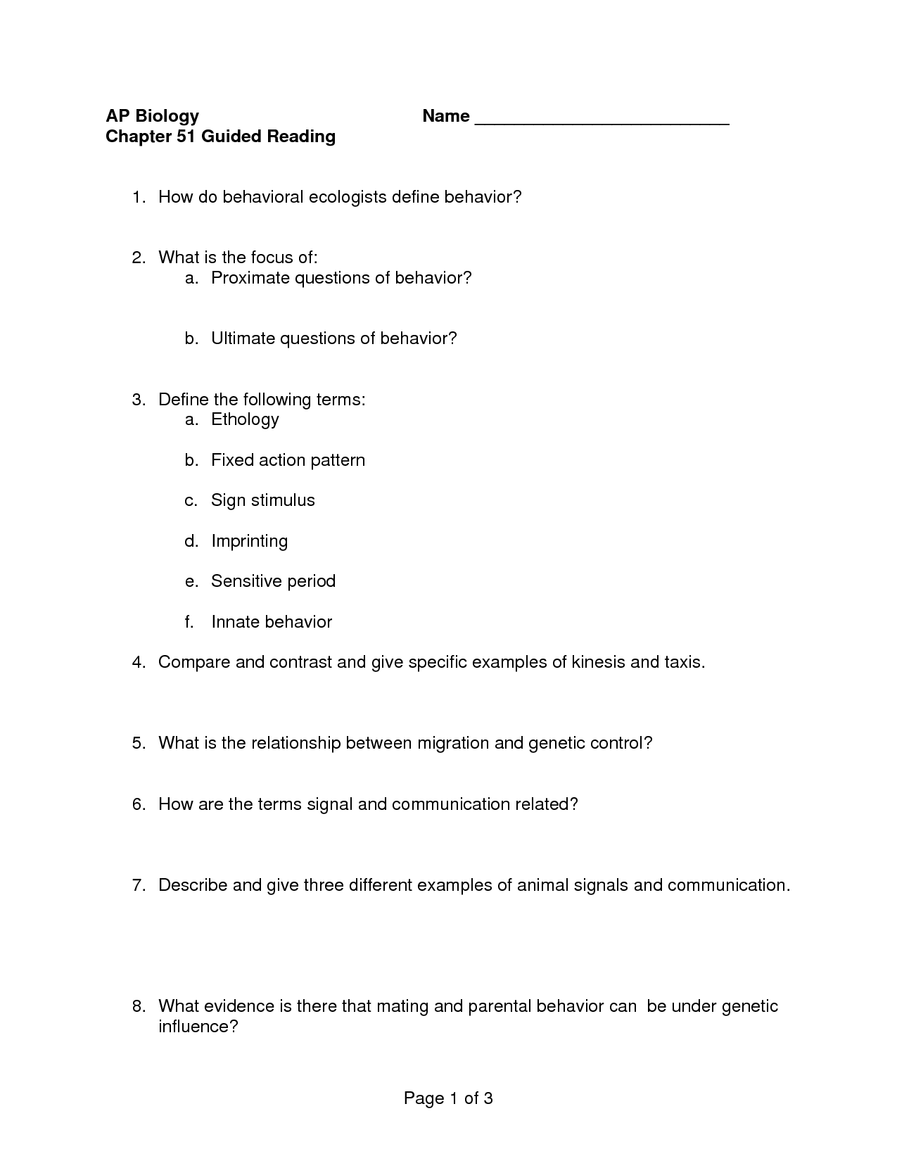 13 Best Images Of 9th Grade Reading Worksheets With Answer