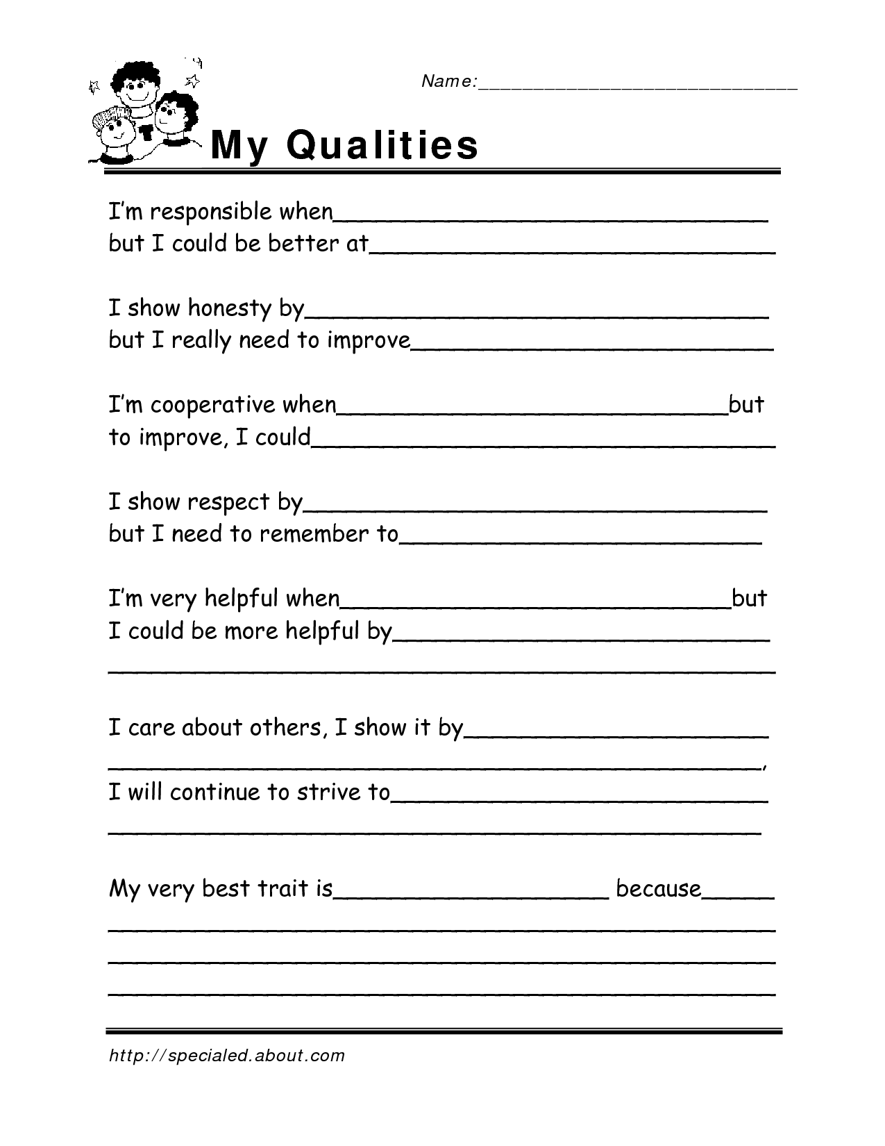 15 Best Images Of Adult Life Skills Lesson Worksheets