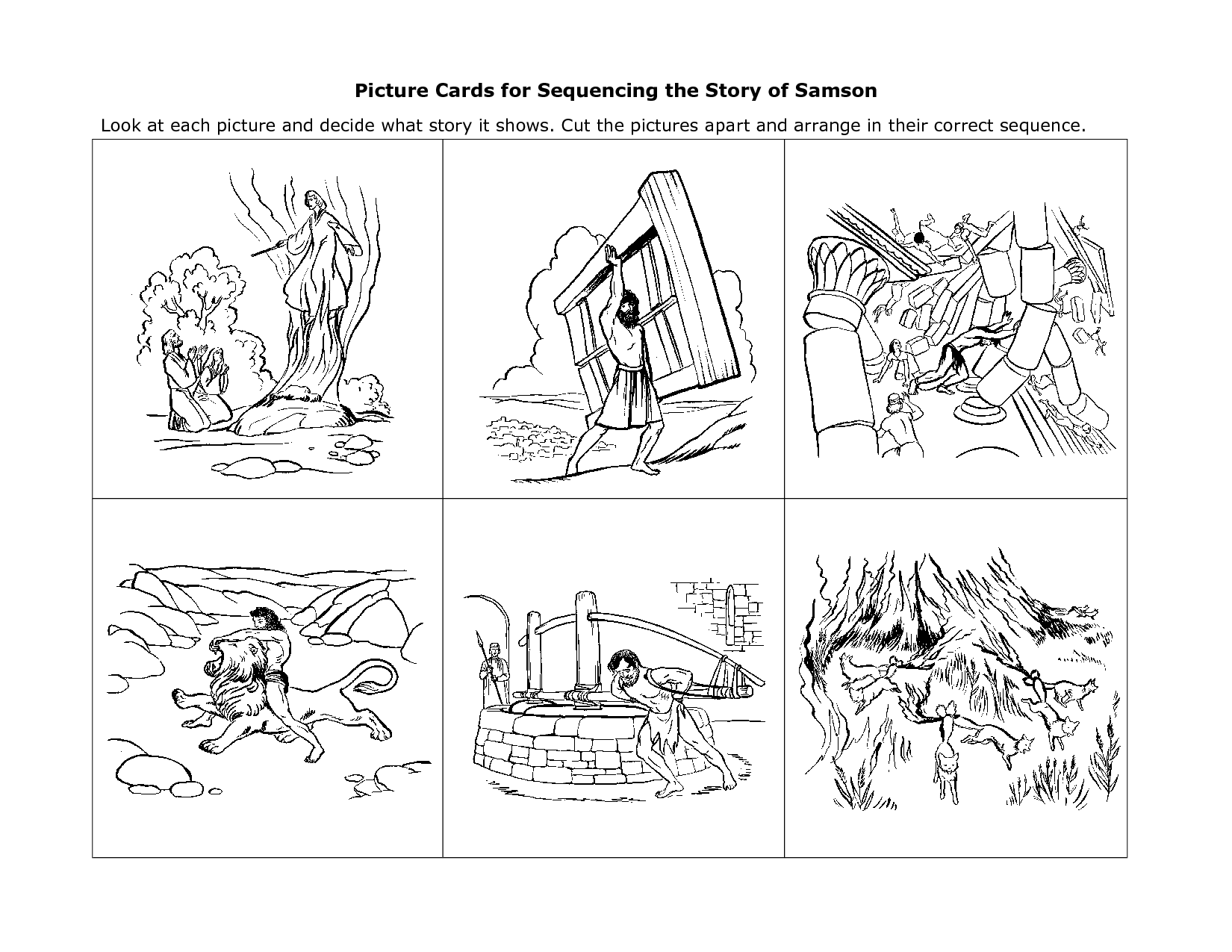 Printable Story Worksheet Grade 6