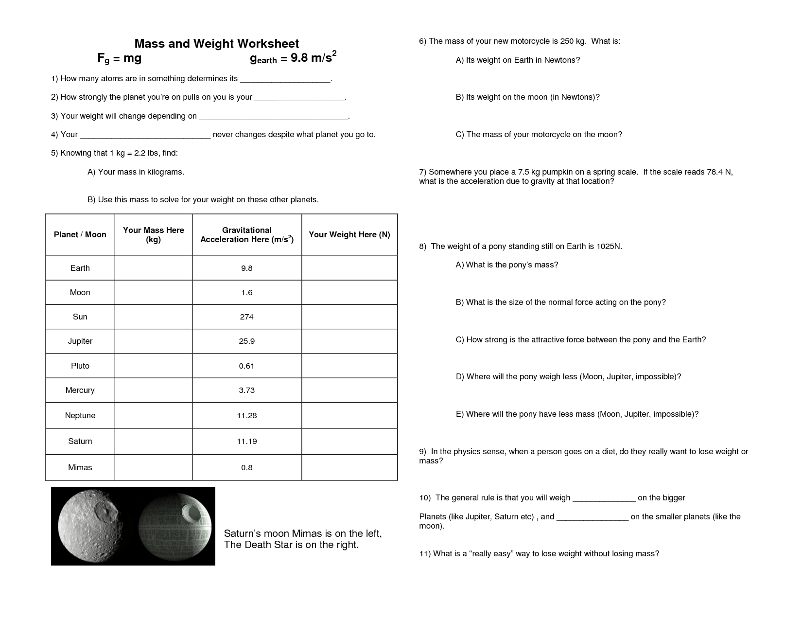 Bill Nye Worksheet Videowave