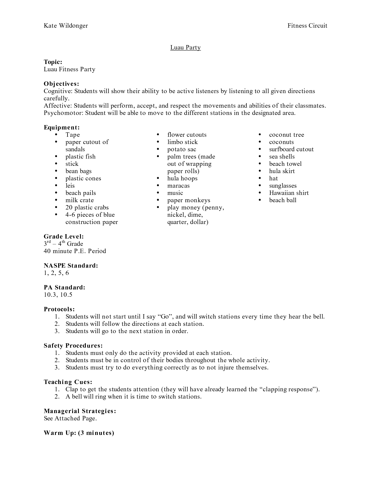 15 Best Images Of Exercise Plan Worksheet