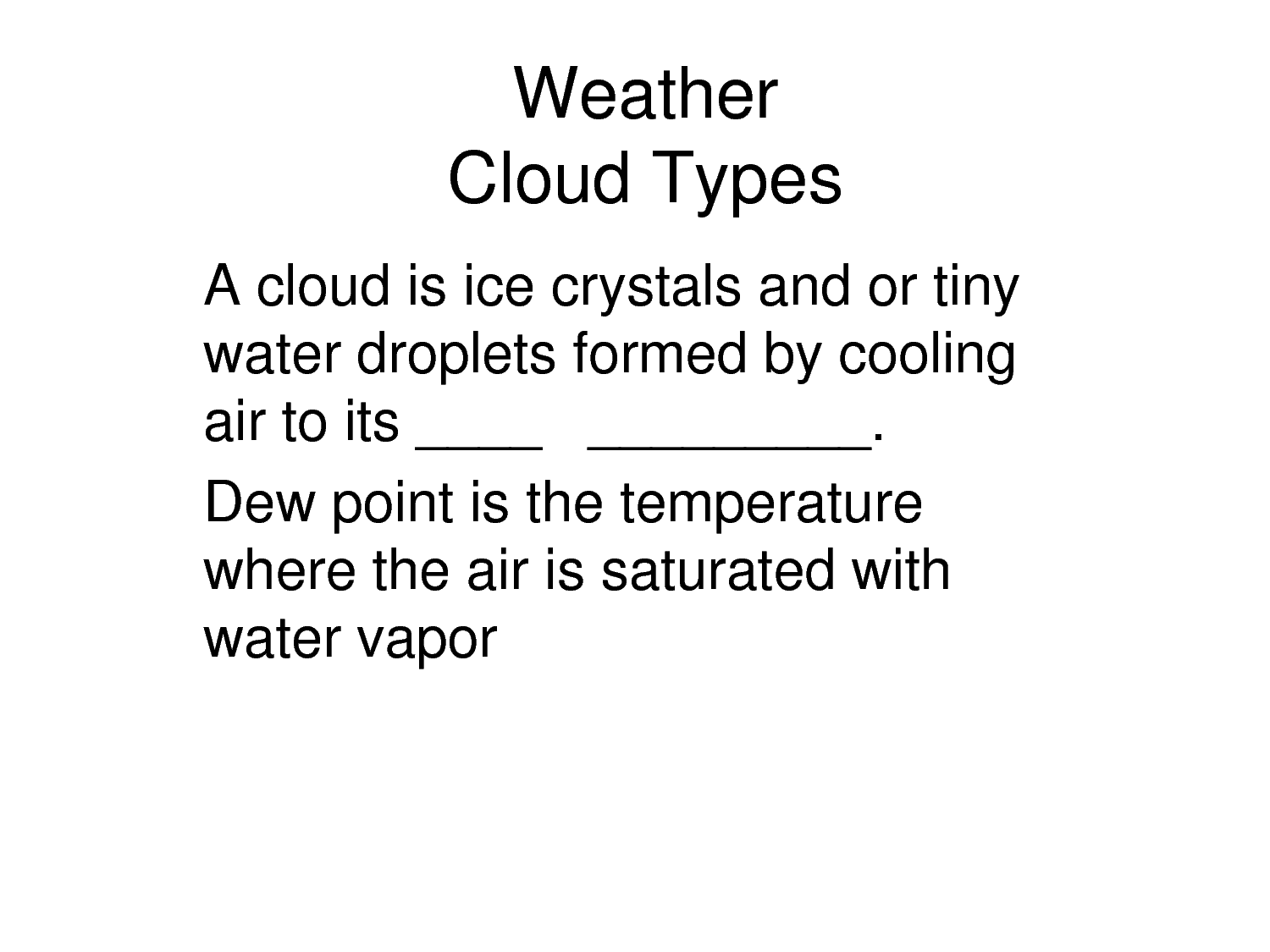 5 Best Images Of Predicting The Weather Worksheet