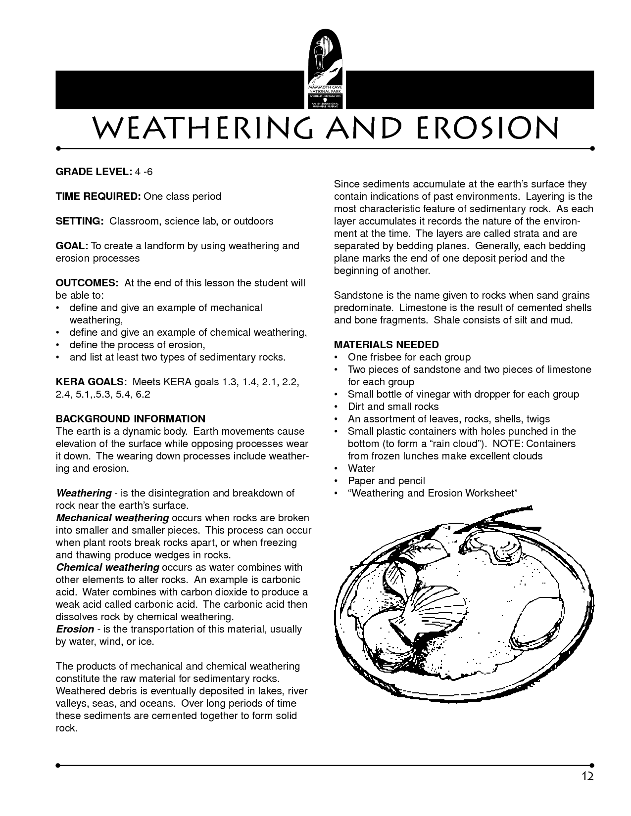 9 Best Images Of Weathering And Erosion Worksheets 4th Grade