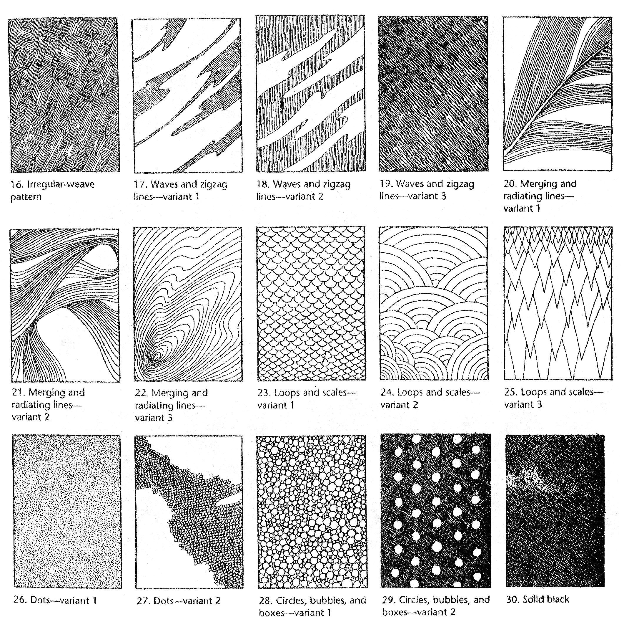 12 Best Images Of Art Pattern Worksheets