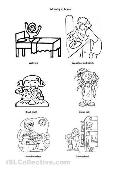 daily coloring pages # 22