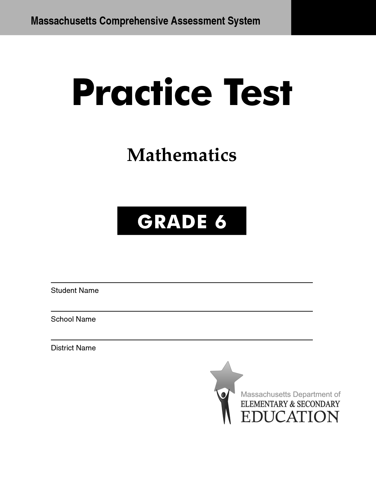 6 Best Images Of Math Practice Worksheet Grade 6