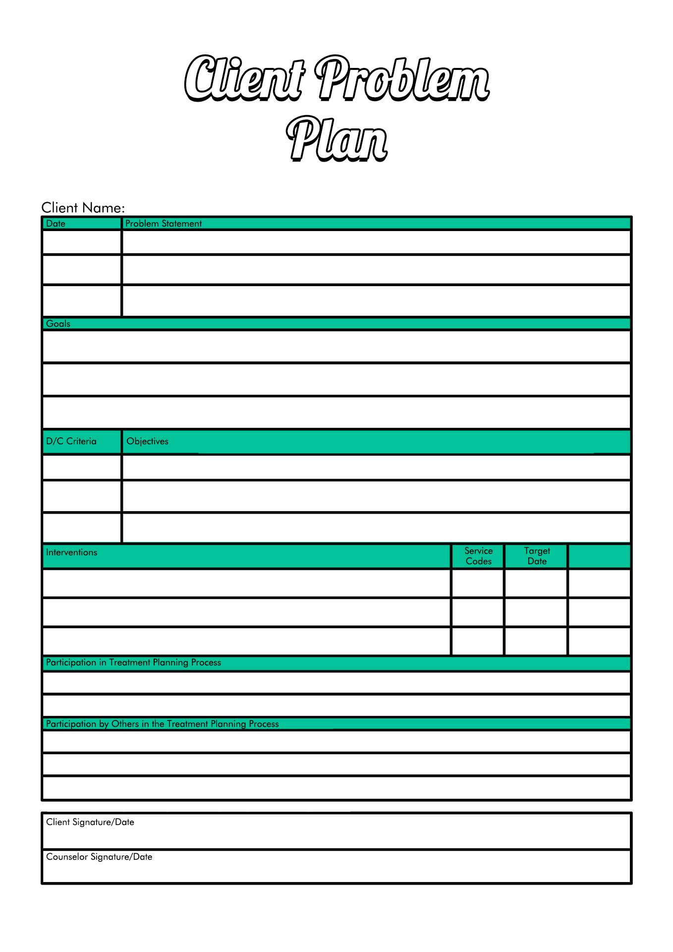 Related Drug Addiction Recovery Worksheet
