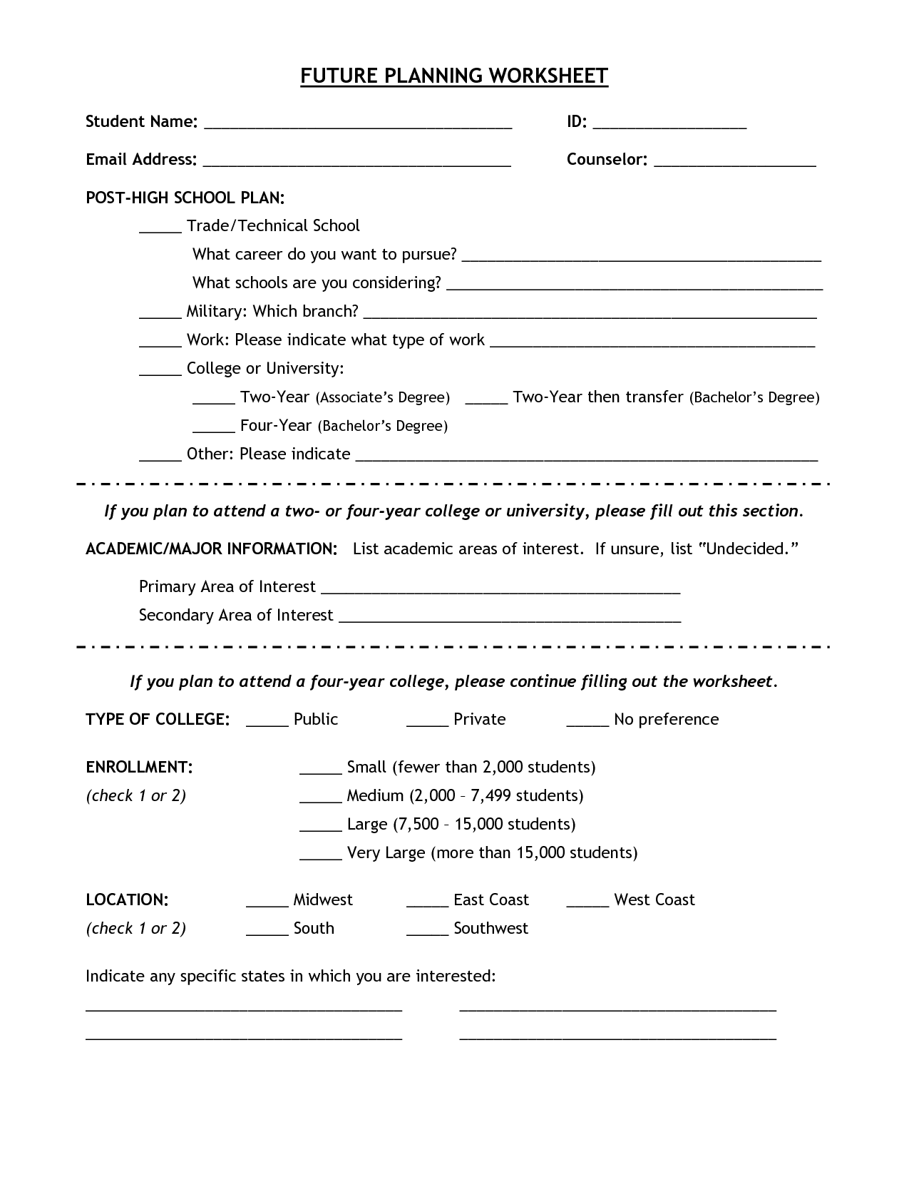Time Worksheet For Middle Schoolers