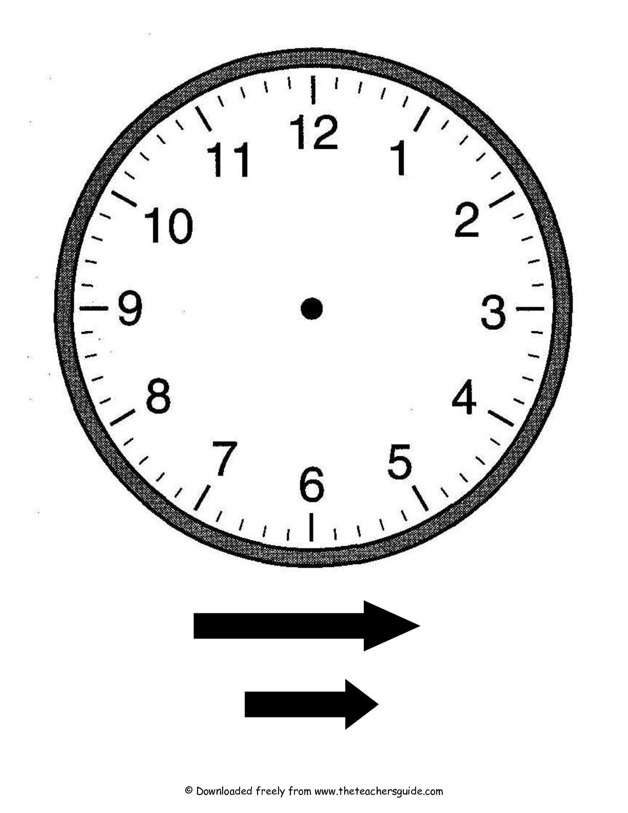 12 Best Images Of Flower Clock Worksheet
