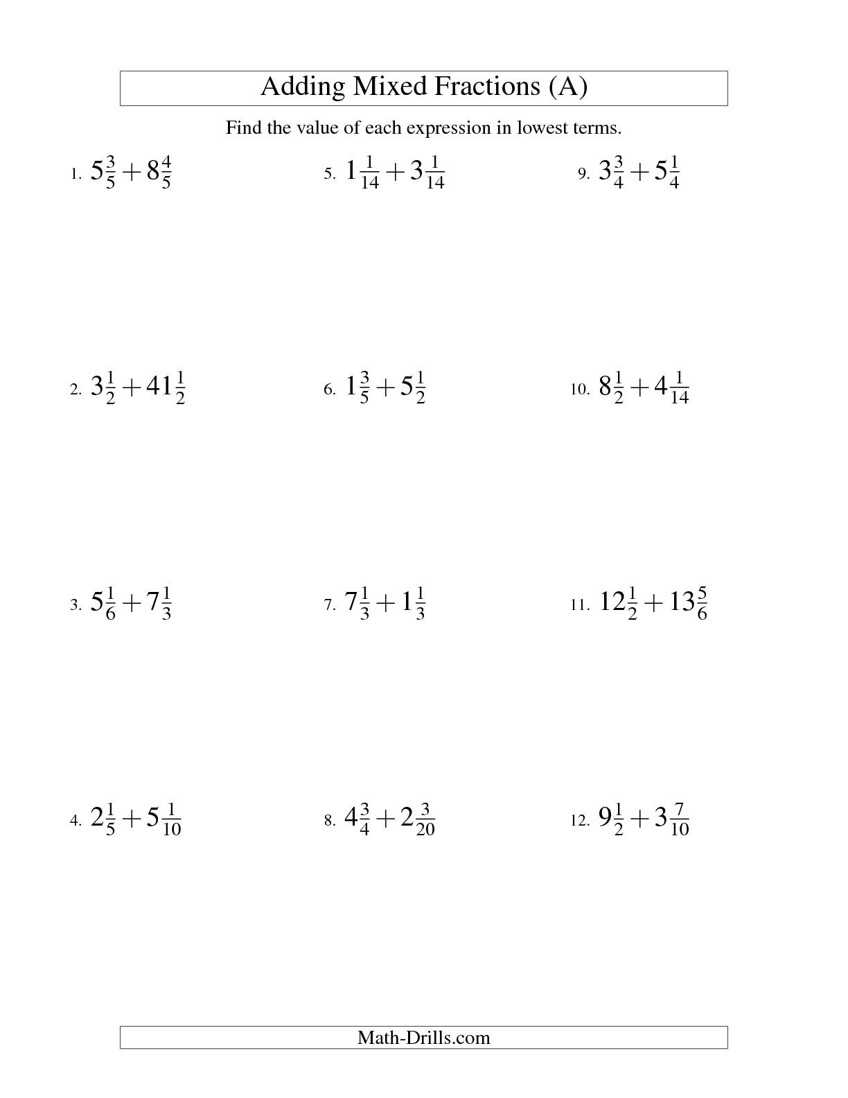 11 Best Images Of Hard Math Worksheets