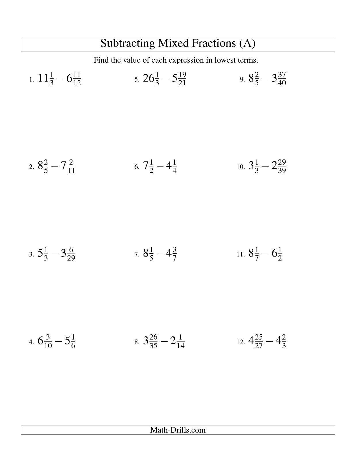 11 Best Images Of Hard Math Worksheets