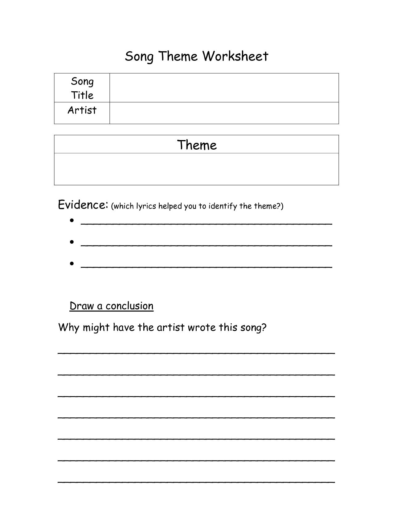 15 Best Images Of Music History Worksheets