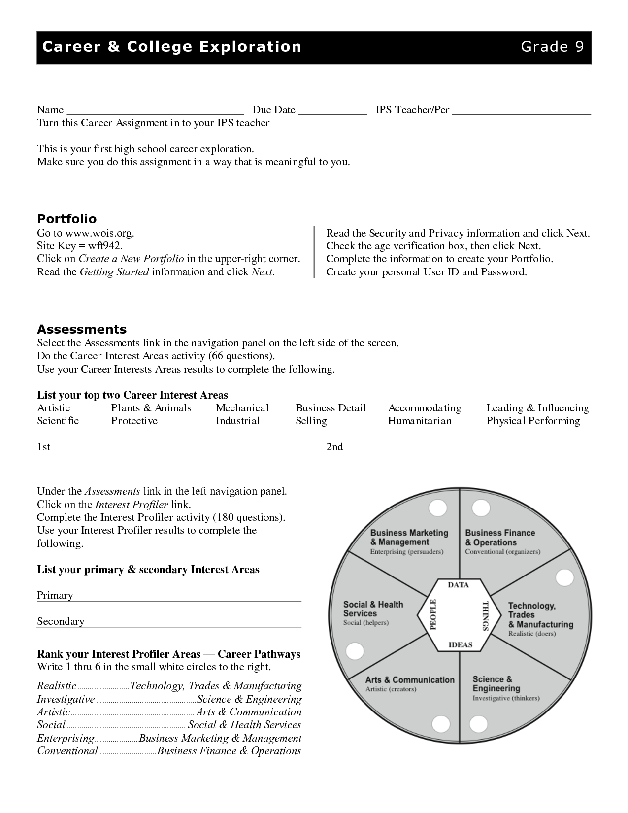 13 Best Images Of Love Learning Career Exploration Worksheets