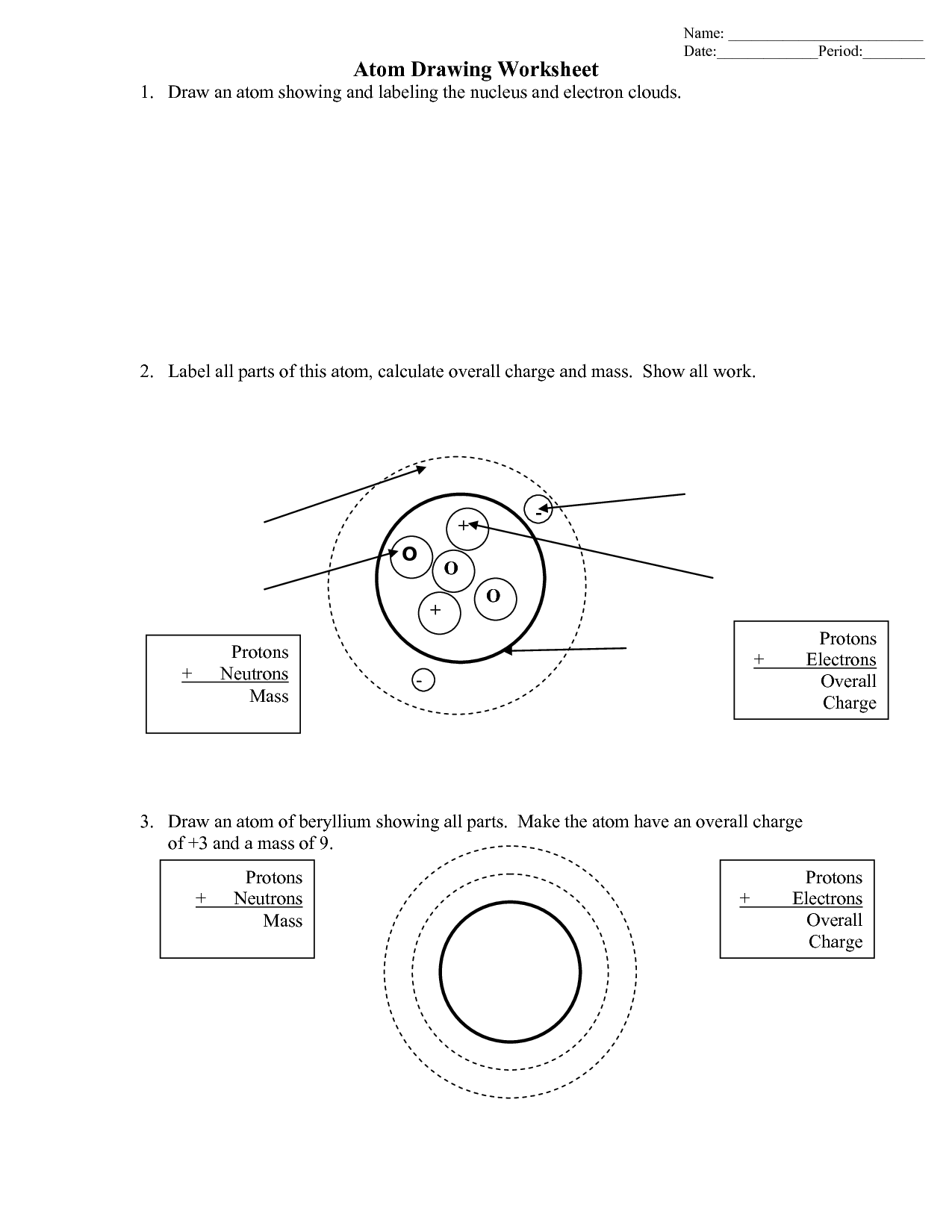 Drawing Motion Worksheet
