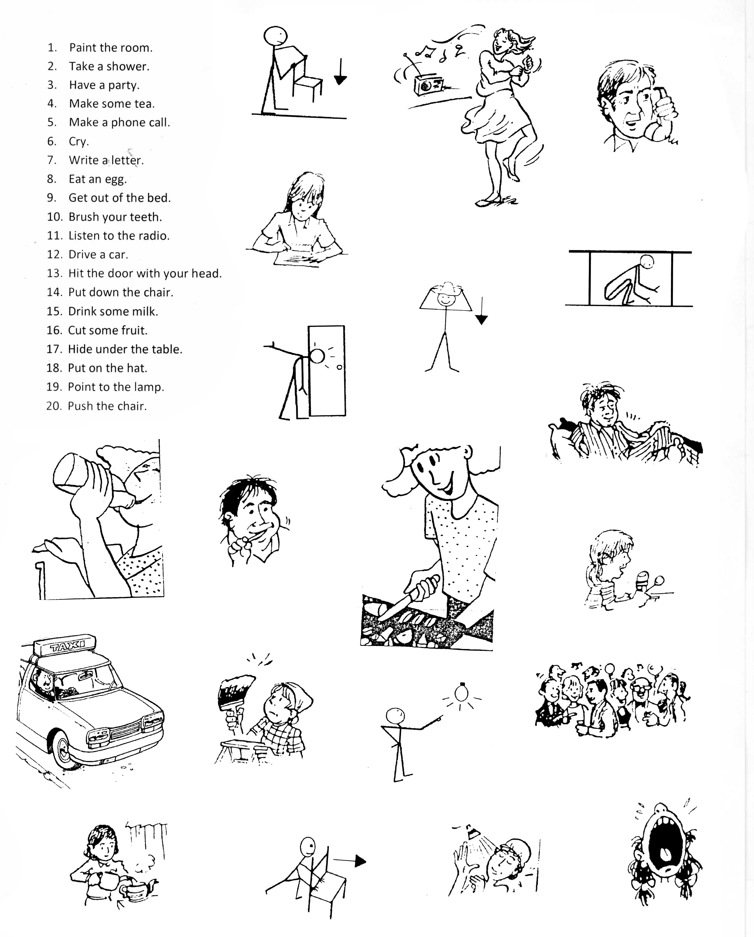 Helping Verbs Printable Worksheet